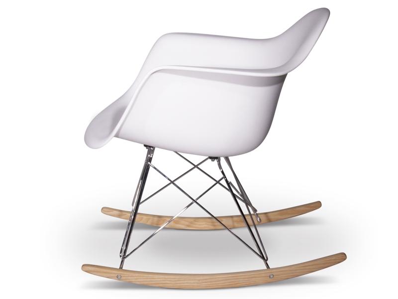 rar rocking chair charles et ray eames blanc. Black Bedroom Furniture Sets. Home Design Ideas