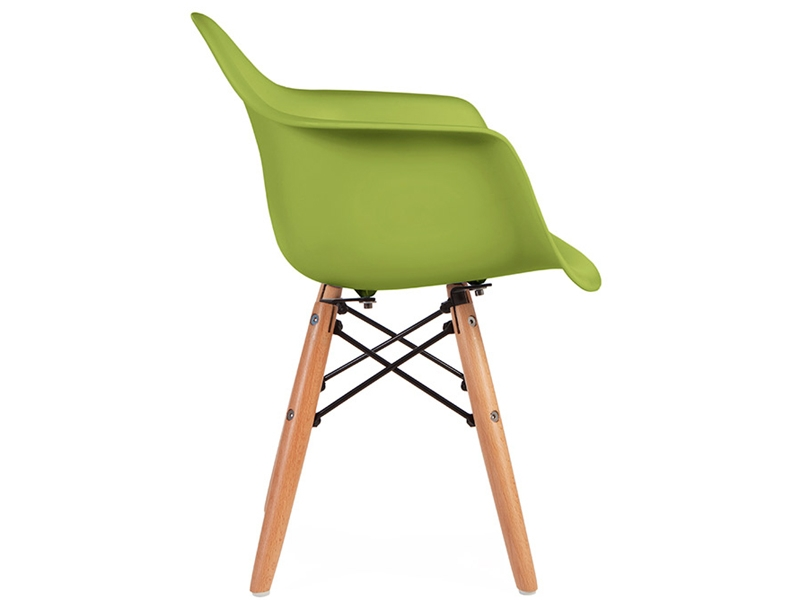 Image of the item Sedia Bambino Eames DAW - Verde