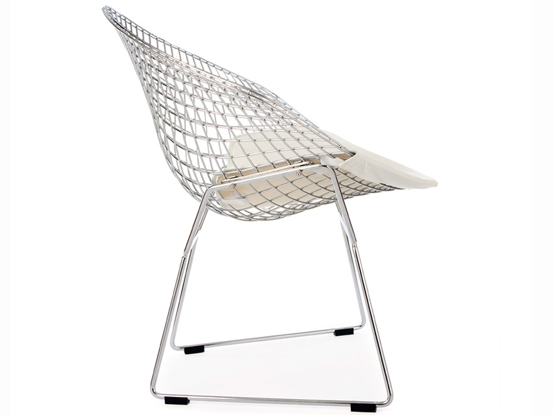 Image of the item Sedia Bertoia Wire Diamond - Blanco