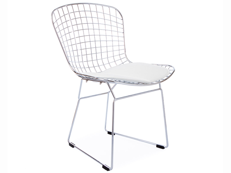 Image of the item Sedia Bertoia Wire Side - Bianco