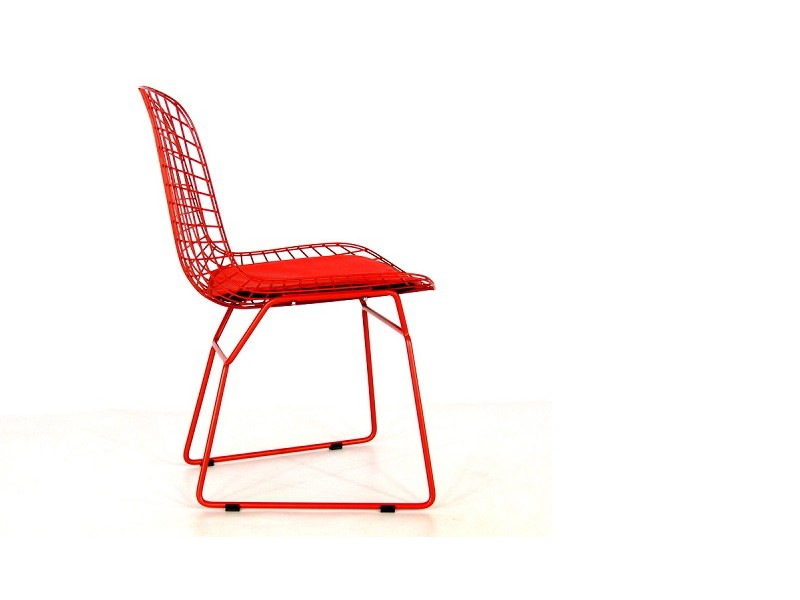 Image of the item Sedia Bertoia Wire Side - Rosso