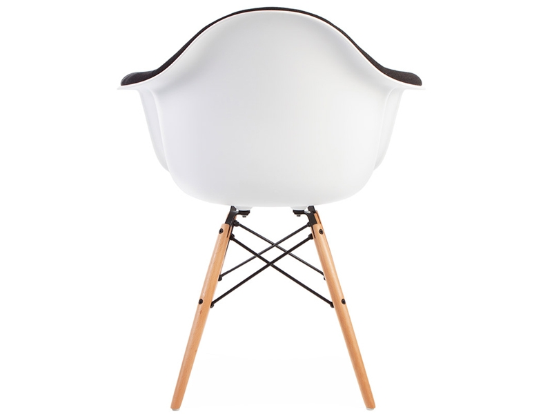 Image of the item Sedia DAW imbottito lana - Grigio