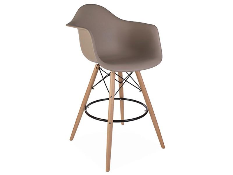 Image of the item Sedia di bar DAB - Grigio beige