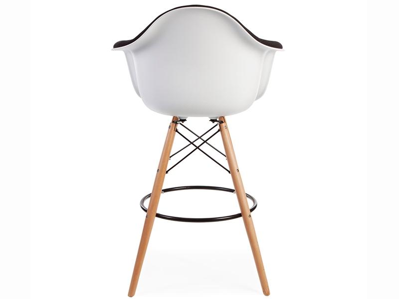 Image of the item Sedia di bar DAB imbottito lana - Grigio