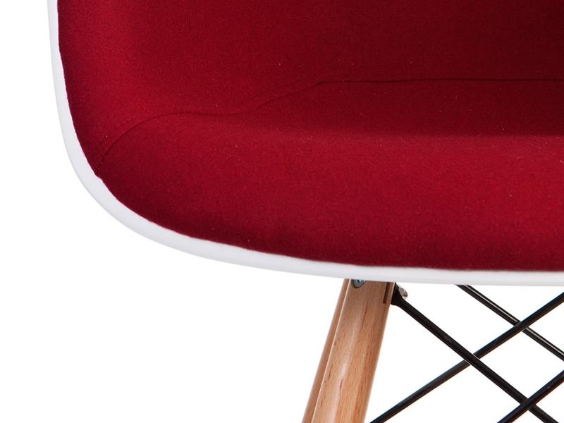 Image of the item Sedia di bar DAB imbottito lana - Rosso