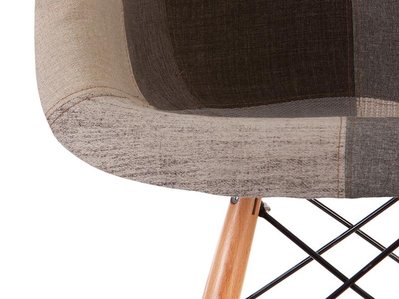 Image of the item Sedia di bar DAB - Patchwork blu