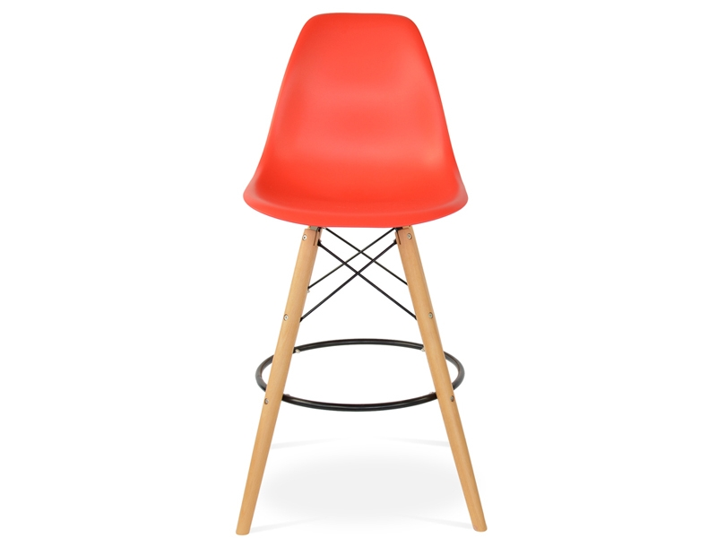 Image of the item Sedia di bar DSB - Rosso vivo