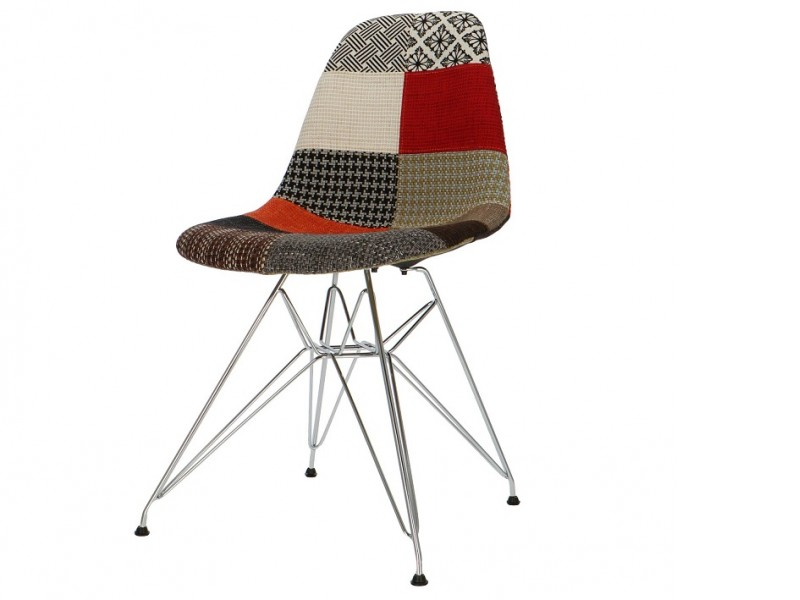 Image of the item Sedia DSR imbottito - Patchwork