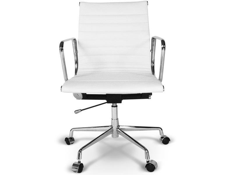 Image of the item Sedia Eames Alu EA117 - Bianco