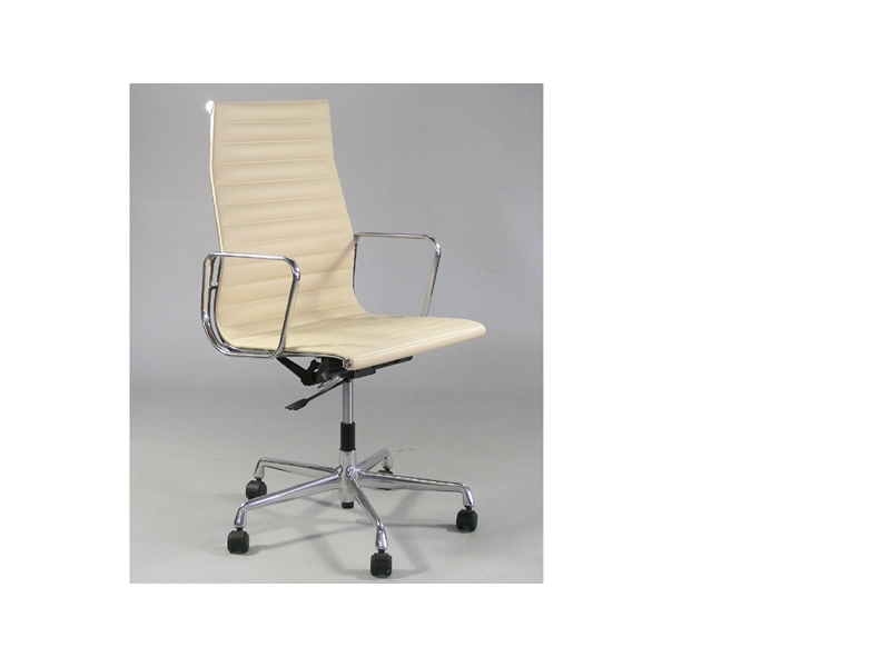 Image of the item Sedia Eames Alu EA119 - Beige