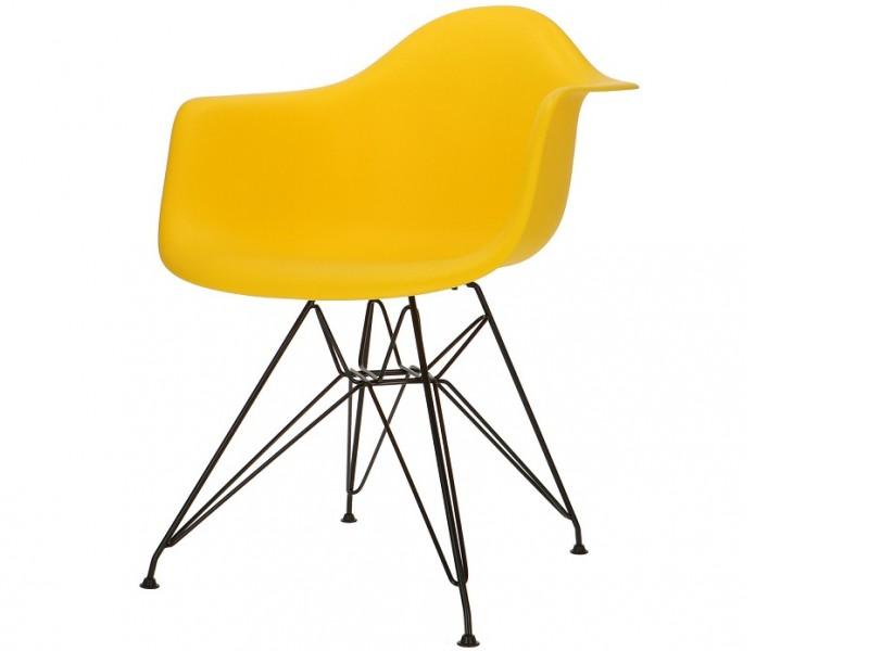 Image of the item Sedia Eames DAR - Giallo