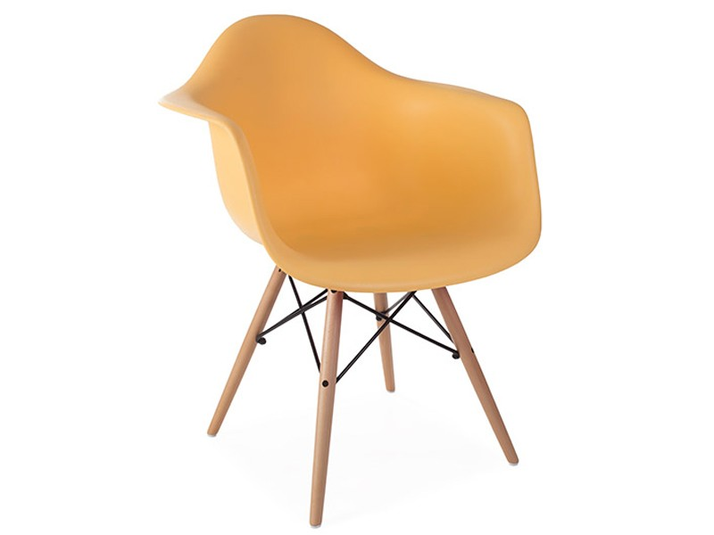 Image of the item Sedia Eames DAW - Arancione