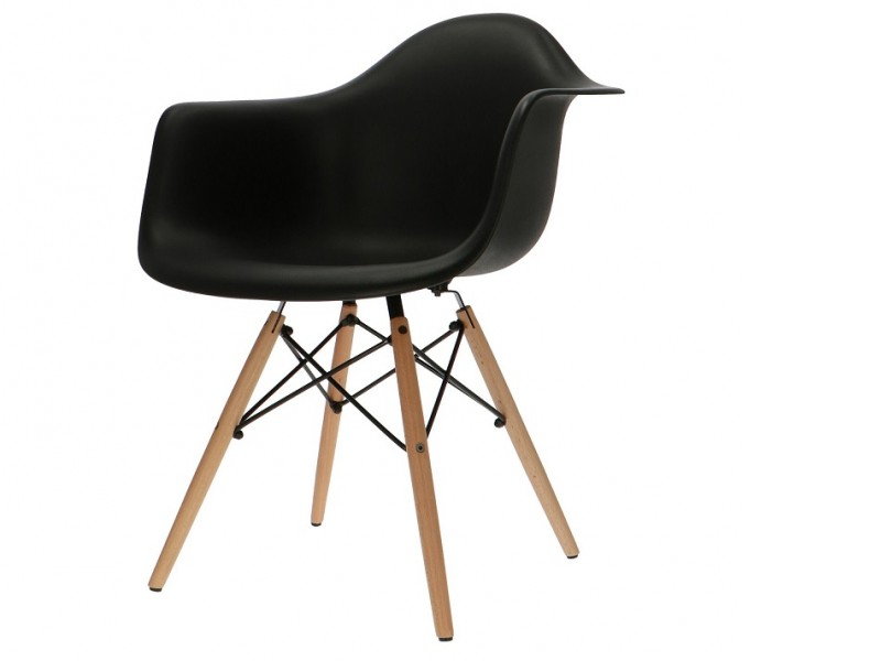 Image of the item Sedia Eames DAW - Nero