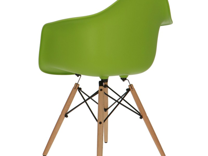 Image of the item Sedia Eames DAW - Verde mela
