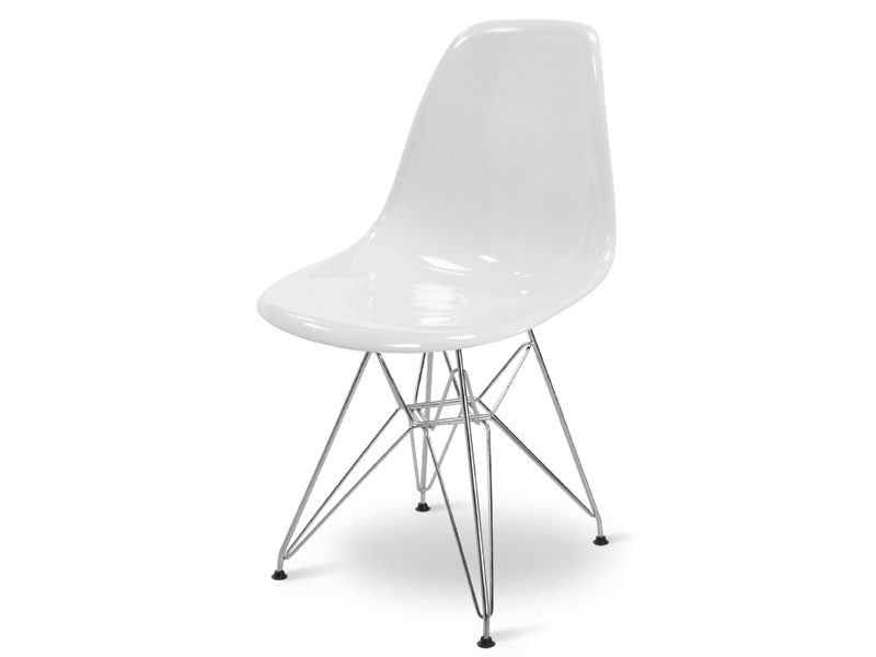 Image of the item Sedia Eames DSR - Bianco lucido