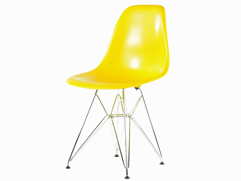 Image of the item Sedia Eames DSR - Giallo lucido