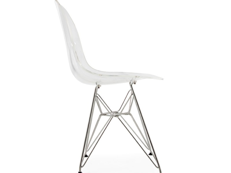 Image of the item Sedia Eames DSR - Trasparente