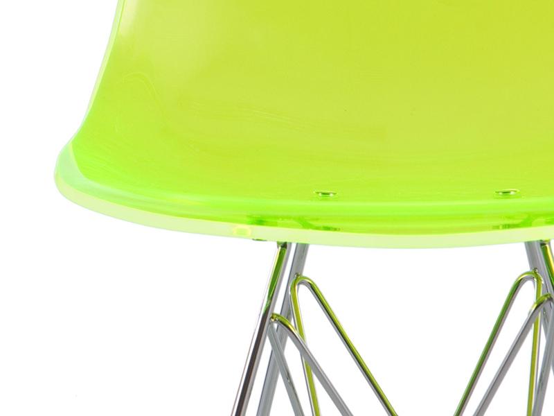 Image of the item Sedia Eames DSR - Verde trasparente