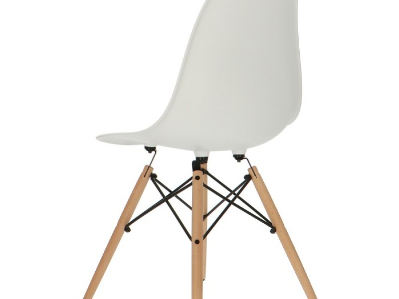 Image of the item Sedia Eames DSW - Bianco