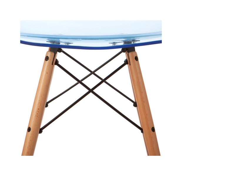 Image of the item Sedia Eames DSW - Blu trasparente