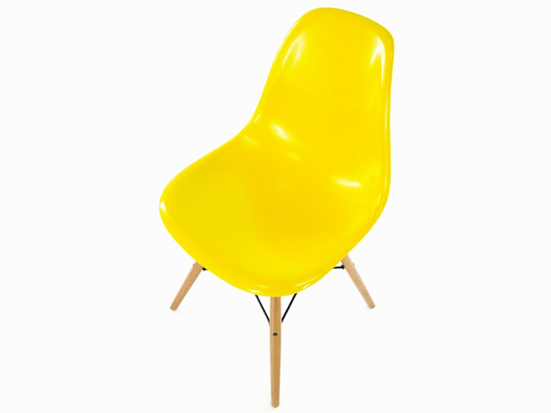 Image of the item Sedia Eames DSW - Giallo lucido