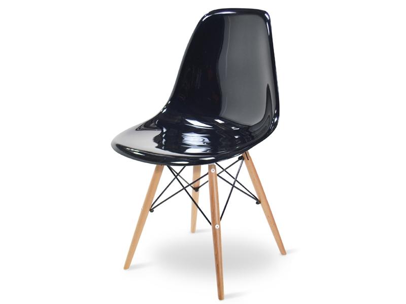 Image of the item Sedia Eames DSW - Nero lucido