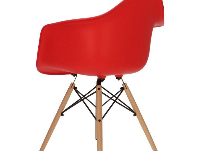 Image of the item Sedia Eames DSW - Rosso vivo