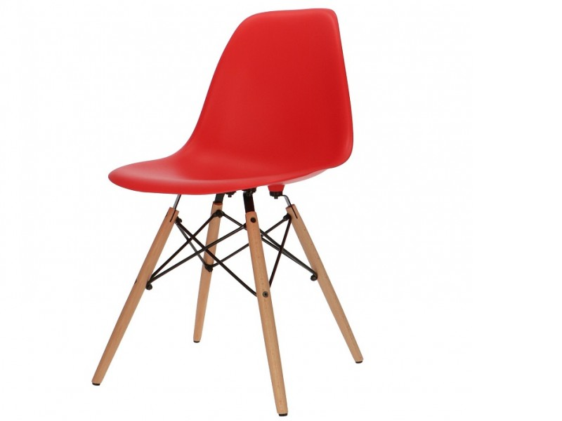 Image of the item Sedia Eames DSW - Rosso