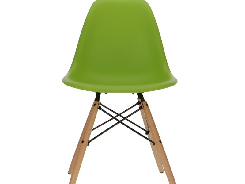 Image of the item Sedia Eames DSW - Verde mela