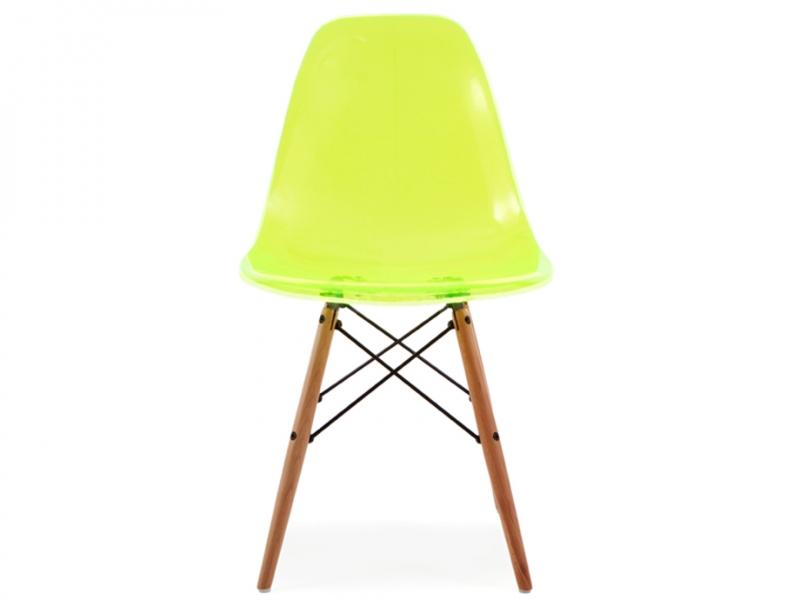 Image of the item Sedia Eames DSW - Verde trrasparente