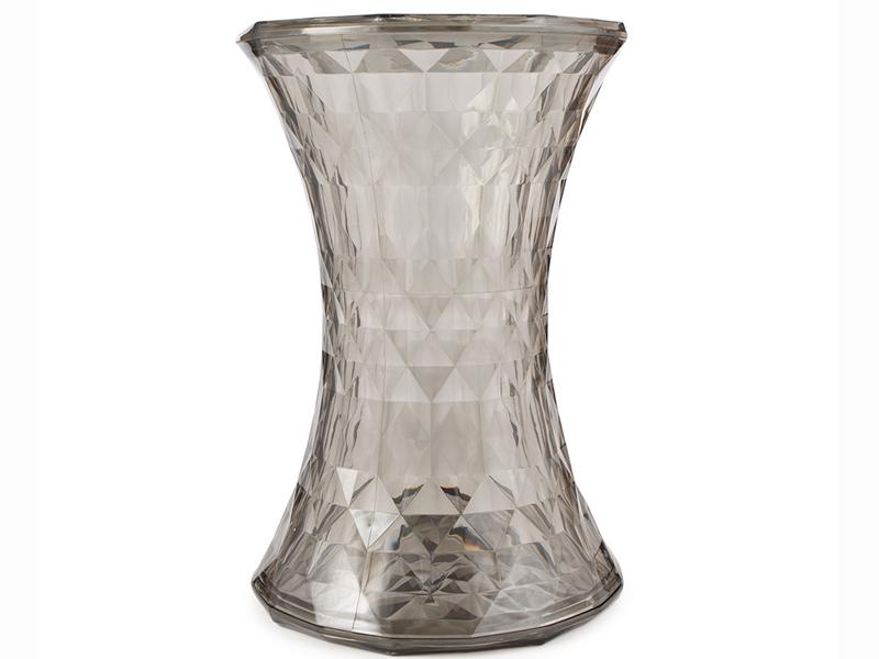 Image of the item Sgabello Ghost - Trasparente Grigio