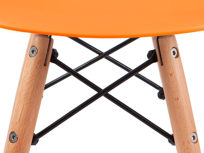 Image of the item Silla Bambino Eames - Arancione