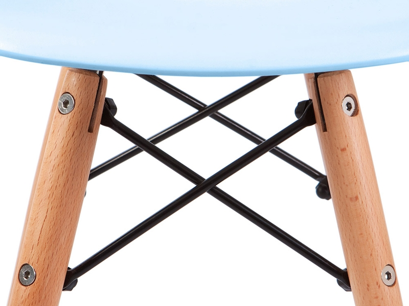 Image of the item Silla Bambino Eames DSW - Blu