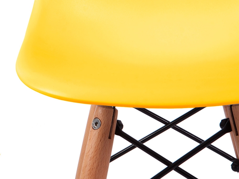 Image of the item Silla Bambino Eames DSW - Giallo