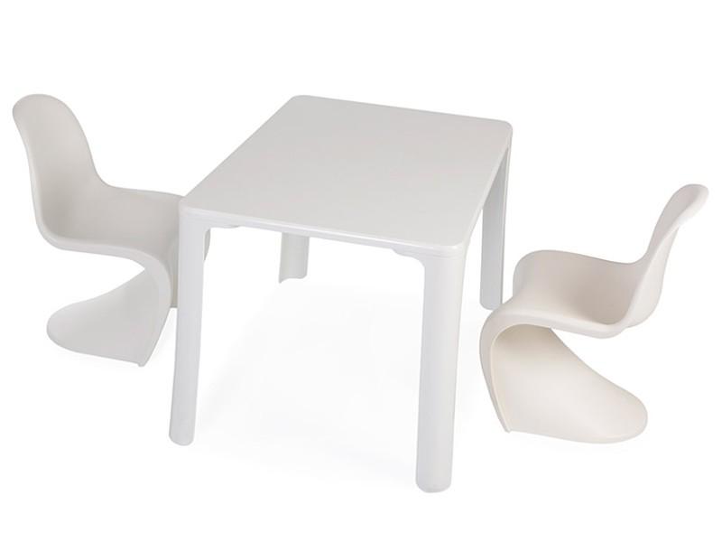 Table enfant jasmine 2 chaises panton - Table chaises enfants ...