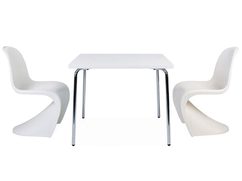 table enfant olivier 2 chaises panton. Black Bedroom Furniture Sets. Home Design Ideas