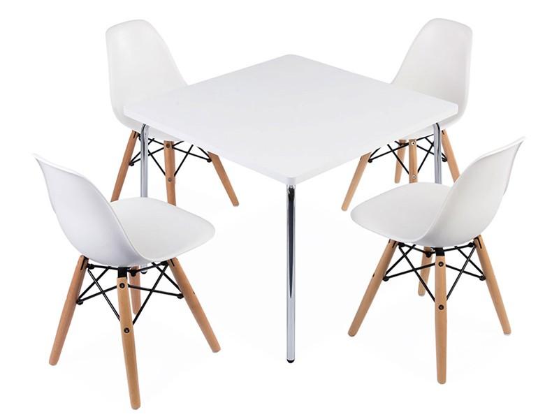 Table enfant olivier 4 chaises dsw for Siege de table enfant