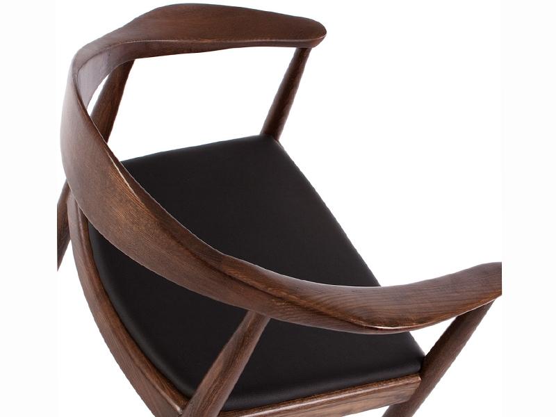 Image de l'article Wegner Chaise The Chair - Marron/Noir