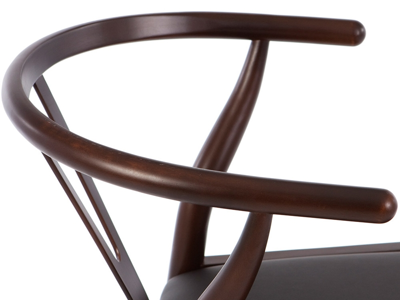 Image of the item Wegner Sedia Wishbone Y - Marrone/Nero