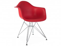 Image de l'article Chaise DAR - Rouge grenat