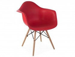 Image de l'article Chaise DAW - Rouge grenat