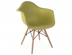 Image de l'article Chaise DAW - Vert moutarde