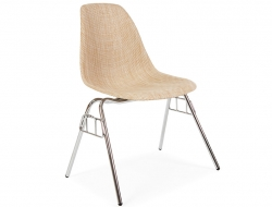 Image de l'article Chaise DSS Texture empilable - Beige