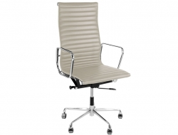 Image de l'article Chaise Eames Alu EA119 - Gris clair