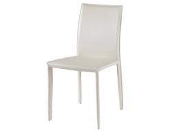Image de l'article Chaise en Cuir COSTA - Blanc