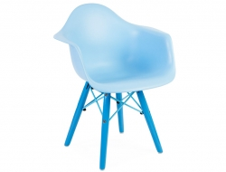 Image de l'article Chaise enfant Eames DAW Color - Bleu