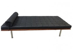 Image of the item Divano letto Barcelona 198 cm - Nero