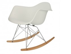 Image de l'article Eames Rocking Chair RAR - Blanc