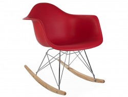 Image de l'article Eames Rocking Chair RAR - Rouge grenat