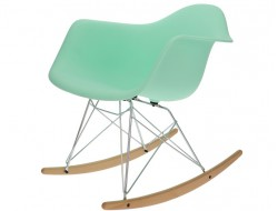 Image de l'article Eames Rocking Chair RAR - Vert menthe
